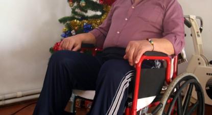 """Foto: """"Am fost un om al străzii, paralizat, nebărbierit şi neîngrijit!"""""""