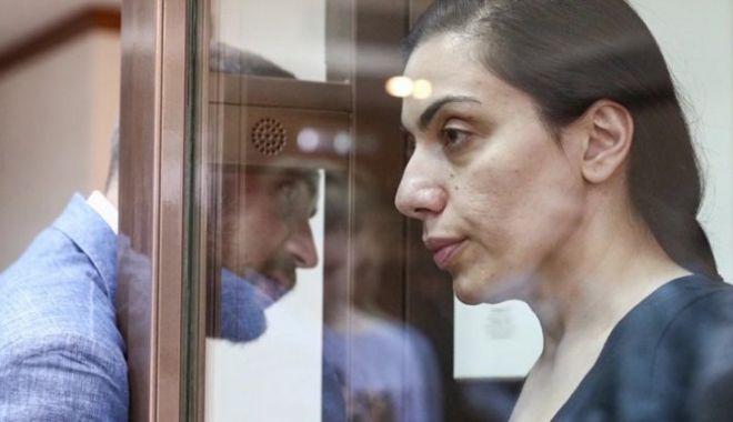 Foto: Primele IMAGINI cu românca acuzată de spionaj în Rusia
