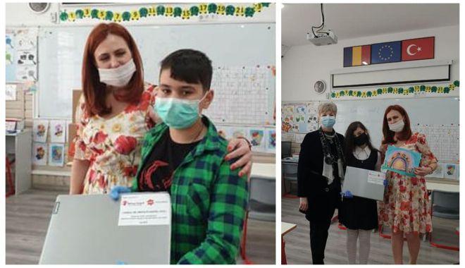 Elevii din Ciocârlia au primit laptopuri, pentru a participa la lecțiile online - 2-1589995717.jpg