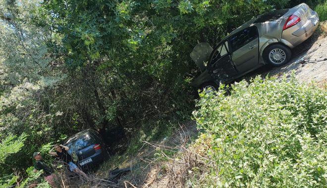ACCIDENT pe șoseaua spre sudul litoralului! Șoferii au fost răniți - 2-1593168894.jpg