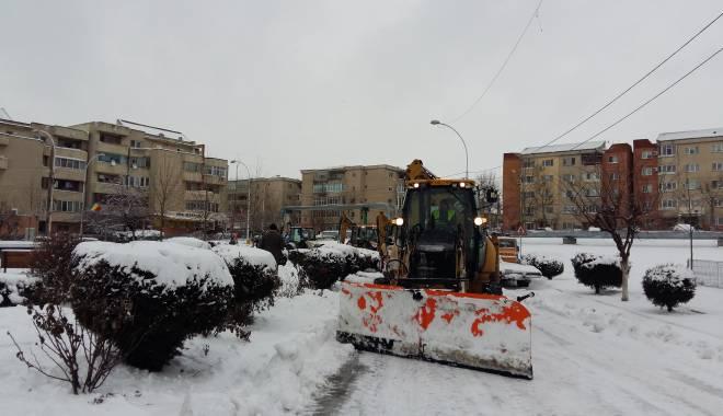 Foto: Comandament de iarnă, la Cernavodă