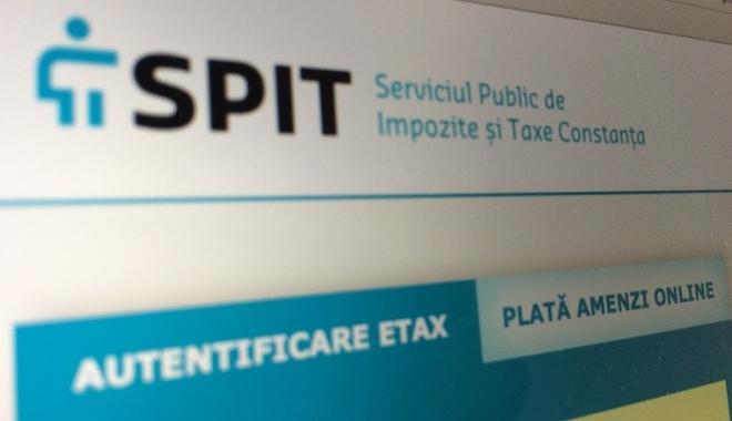 Foto: SPIT. Se modifică modalitatea de plată a amenzilor contravenţionale