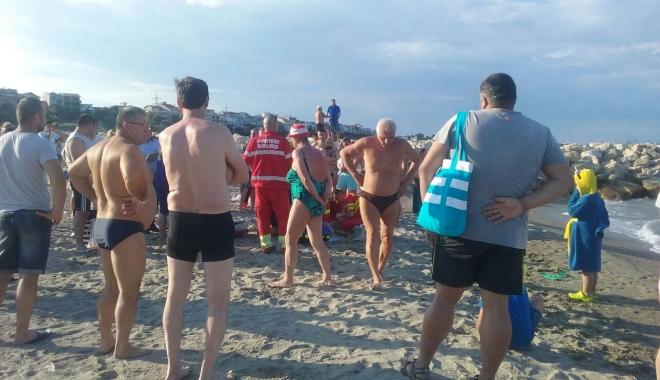 Foto: Încă o persoană înecată la Eforie Nord