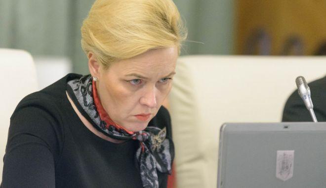 Foto: Carmen Dan: Nu mă consult cu Liviu Dragnea privid deciziile care se iau la nivelul MAI
