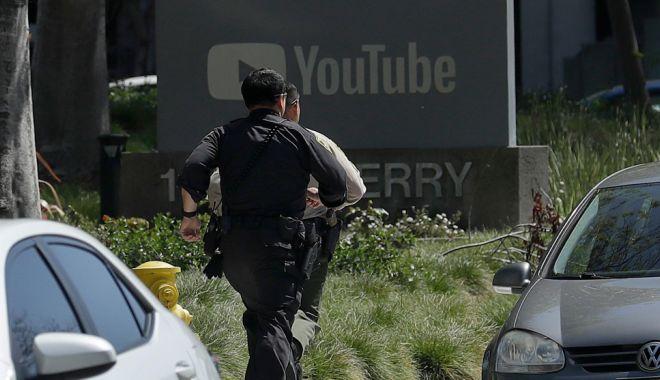 Foto: Împuşcături la sediul YouTube din California. O femeie a deschis focul în clădire, a rănit trei oameni, apoi s-a sinucis