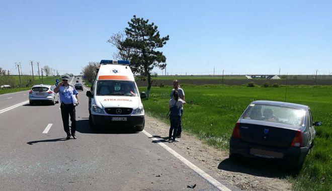 GALERIE FOTO / Accident rutier cu trei victime la Valu lui Traian