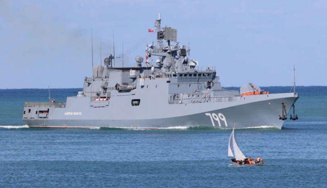 Foto: Rusia trimite o nouă navă de război în Marea Mediterană