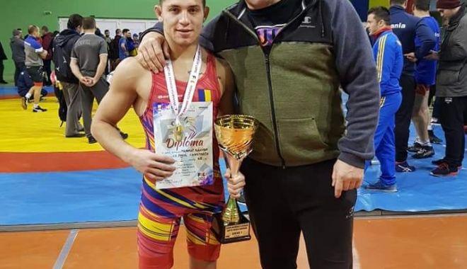 Foto: Medalie importantă pentru sportivul constănțean Răzvan Arnăut