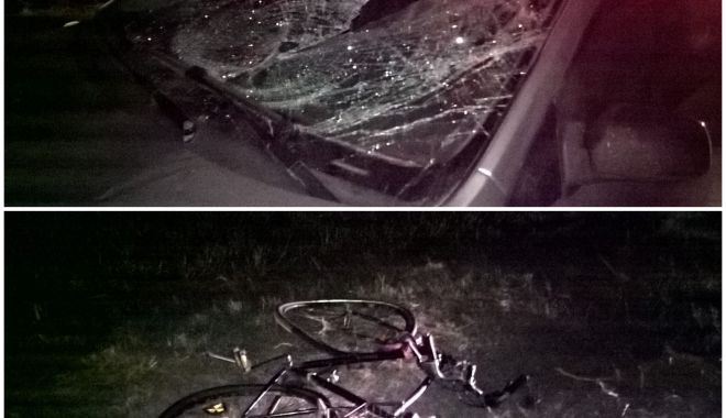 Foto: Grav accident rutier la Constanța! Victima, un biciclist