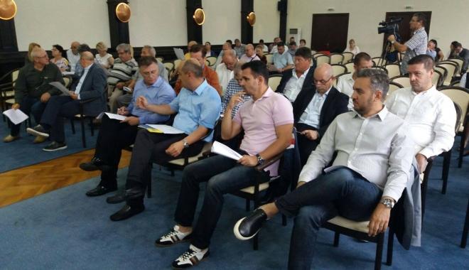 Foto: Ultimatum în problema privind traseul Constanţa- Năvodari! Ce au decis consilierii constănţeni
