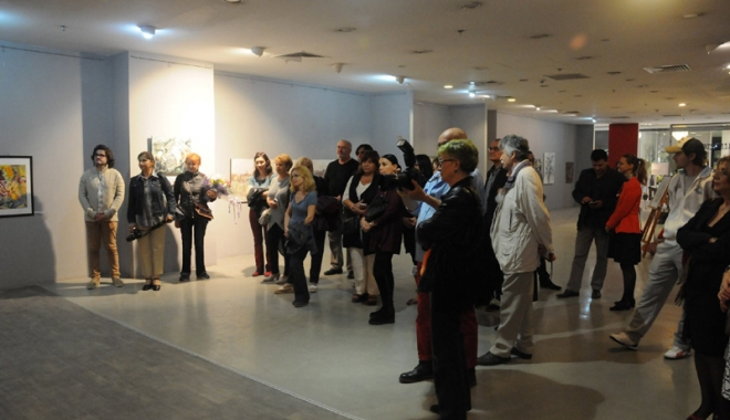 Foto: Eveniment important la Art Gallery din Tomis Mall