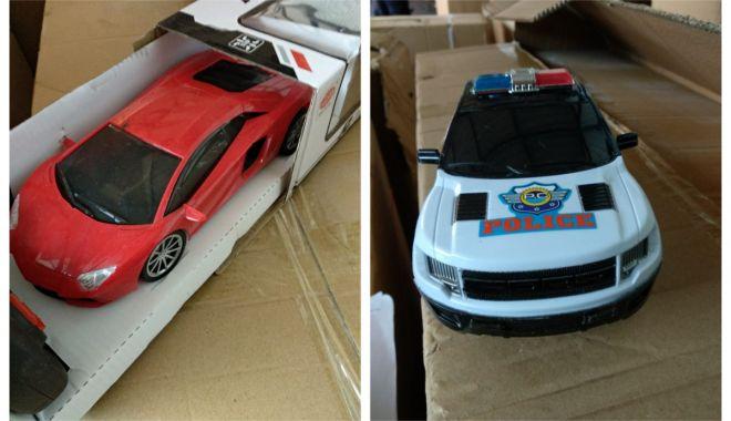 Foto: Jucării contrafăcute în valoare de peste 70.000 lei, confiscate în Portul Constanţa Sud Agigea