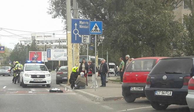 Foto: ACCIDENT RUTIER LA CONSTANŢA. VICTIMA, un pieton lovit pe trecere