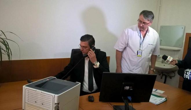 Foto: SPITALUL JUDEŢEAN CONSTANŢA, SUB LUPĂ! Şeful CJC a început personal monitorizarea unităţii