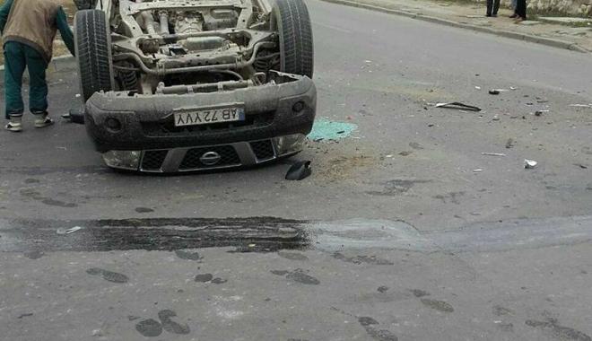 GRAV ACCIDENT RUTIER, la Constanţa. Două victime, după ce o maşină s-a răsturnat - 23627307150788645929808648913835-1510731996.jpg