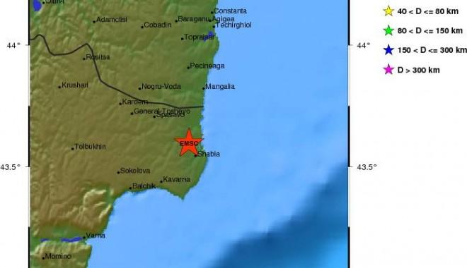 Foto: Cutremur în Marea Neagră
