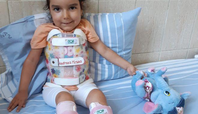 """O mamă luptă pentru viaţa copilului ei. """"În ziua în care Miruna a fost diagnosticată, doctorul mi-a spus să ne gândim să facem un alt copil"""" - 23940865130199117715618489219176-1632726684.jpg"""