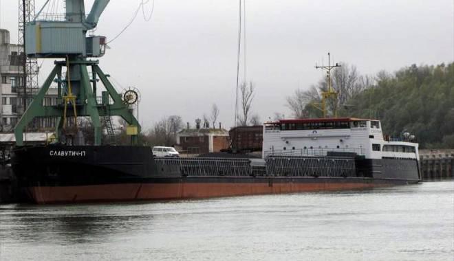 Foto: 23 de nave au accesul interzis  în porturile româneşti