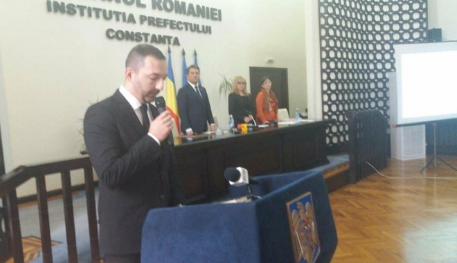 Foto: Este oficial! Liviu Merdinian, consilier local al municipiului Constanţa