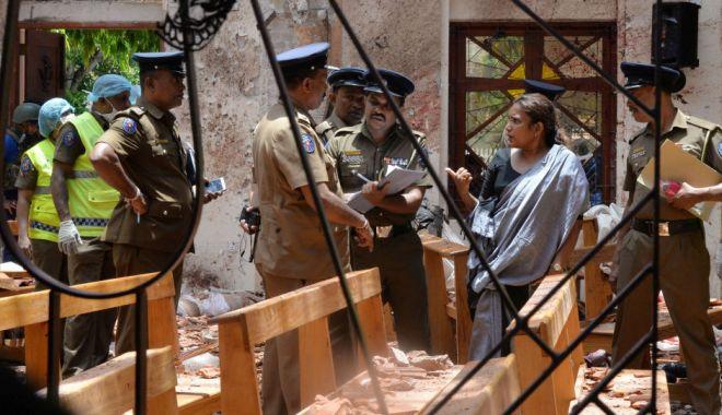 Foto: O nouă explozie în Sri Lanka. Poliţia a găsit 87 de detonatoare într-o autogară din Colombo. A fost decretată stare de urgenţă