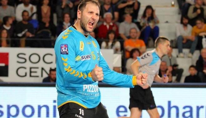 Foto: Fostul portar al HCM-ului, Mihai Popescu, ales din nou cel mai valoros handbalist român
