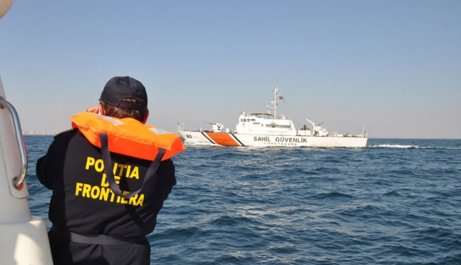 Foto: Garda de Coastă a organizat un exerciţiu complex, la Constanţa