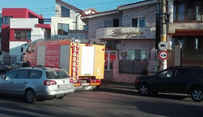 Foto: Incendiu la Cofetăria Giorginio!