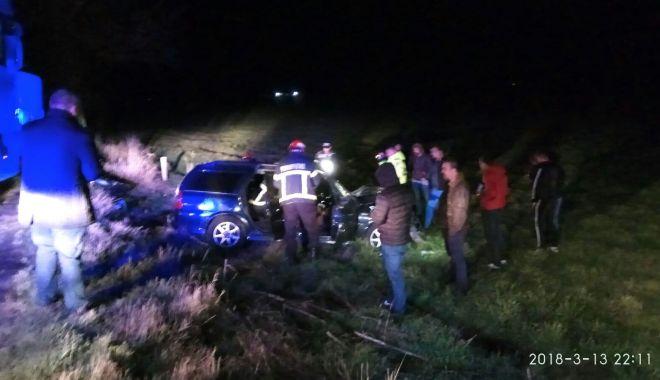 Foto: GALERIE FOTO / ACCIDENT RUTIER GRAV la Agigea. 2 victime ÎNCARCERATE