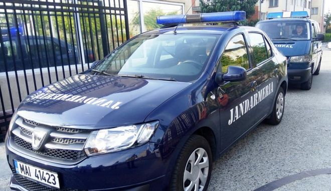 Foto: Depistat de jandarmi în zona Prefecturii Constanţa, deşi avea emis un mandat de executare a pedepsei cu închisoarea