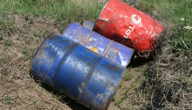 Foto: Amendă usturătoare pentru transportul unei tone de motorină, fără acte