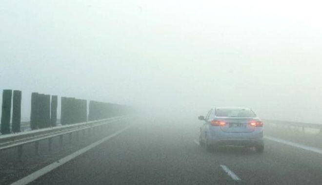 CEAȚĂ PE AUTOSTRADĂ! Poliția avertizează șoferii să conducă prudent - 29novceataautostradasursafanatik-1606642255.jpg