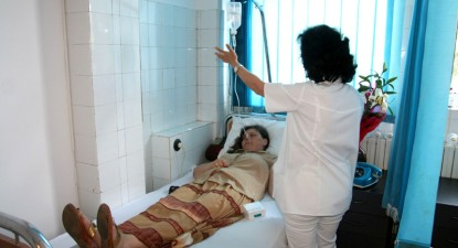Foto: Chimioterapie pe melodiile lui Clayderman la Spitalul Judeţean