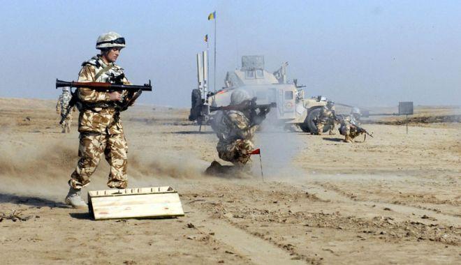 Foto: MINISTRUL APĂRĂRII: MAI MULŢI MILITARI ROMÂNI, ÎN TEATRELE DE OPERAŢII, LA SOLICITAREA NATO!