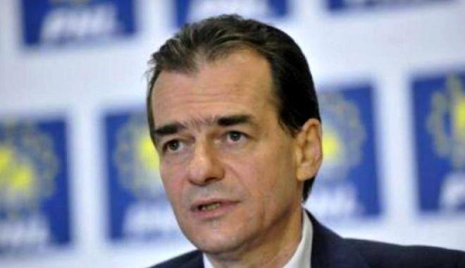 Foto: Ludovic Orban: PNL cere audierea premierului în Camera Deputaților