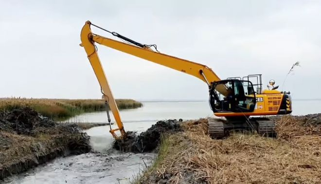 Lacul Nuntași ARE DIN NOU APĂ, după ce secase complet! - 30octlaculnuntasi2-1604050026.jpg