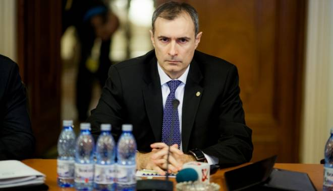 Foto: Directorul interimar al SRI, Florian Coldea, audiat în Parlament, după denunţul Elenei Udrea