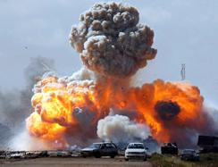 Foto: Franţa exclude o intervenţie terestră în Libia