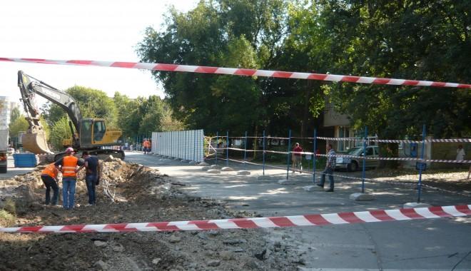 Foto: Au început lucrările la parcarea supraetajată de la Judeţean
