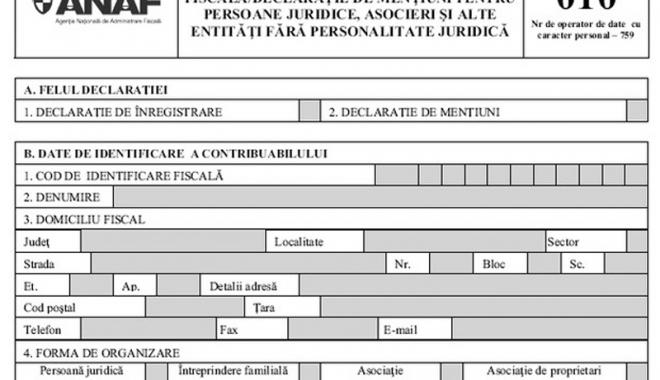 Foto: 31 martie 2017 - termen limită de declarare a menţiunilor pentru anumite categorii de contribuabili