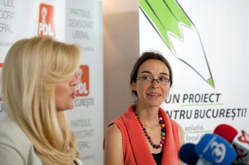 Foto: Simona Creţu a ieşit din competiţia pentru desemnarea candidatului PDL la prezidenţiale