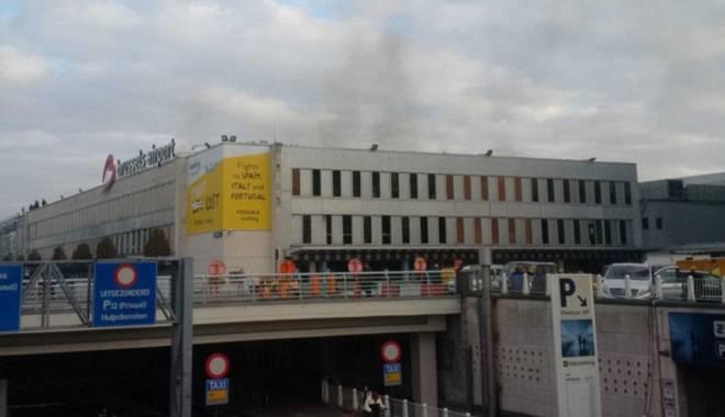 Foto: EXPLOZII BRUXELLES / Grapini: 30 de rom�ni erau pe aeroportul din Bruxelles