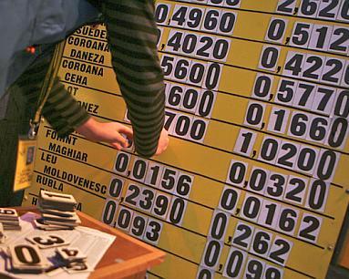 Foto: Cursul de schimb valutar care se va aplica în domeniul fiscal