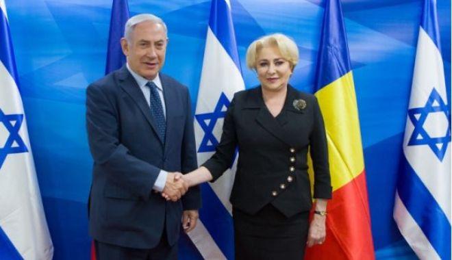 Foto: Premierul Viorica Dăncilă s-a întâlnit cu omologul israelian Benjamin Netanyahu