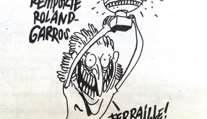 Foto: Times New Roman pentru Charlie Hebdo: era Brigitte Macron, nu Simona Halep
