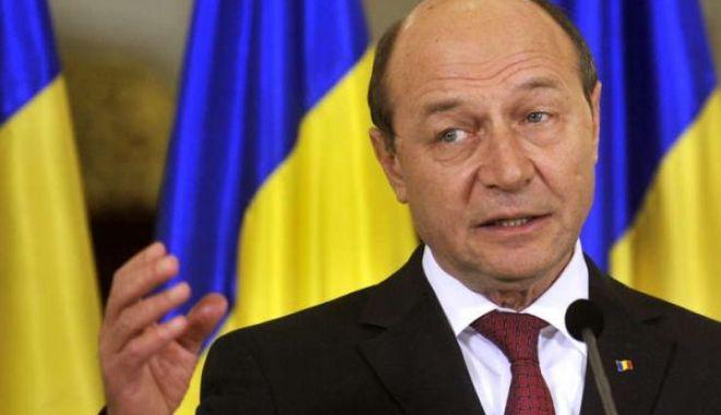 Foto: Traian Băsescu, despre realegerea lui Iohannis: