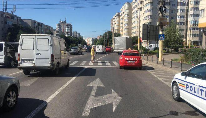 Foto: O victimă, în urma unui accident rutier petrecut în Constanţa
