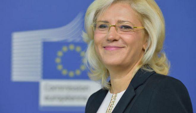 Foto: Corina Crețu: Fondurile europene trebuie blocate, e toleranță zero față de corupție