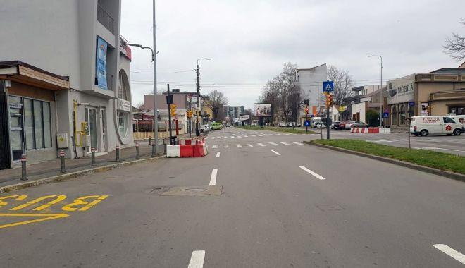 Reportaj: Constanța în CARANTINĂ TOTALĂ. Străzi pustii, poliția la datorie, afaceri cu lacătul pe ușă! GALERIE FOTO - 4-1585143625.jpg