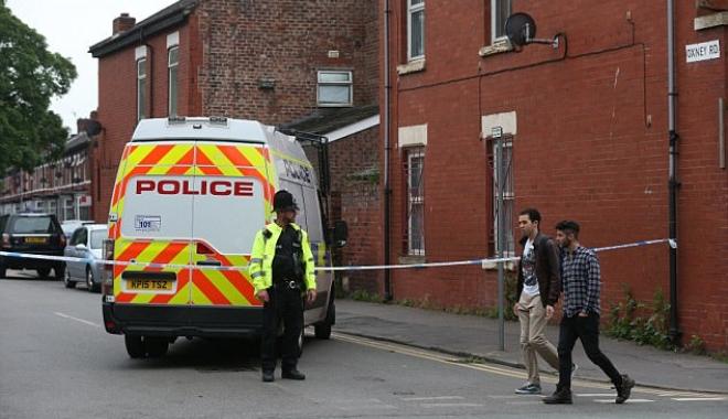 Foto: ATENTAT MANCHESTER / Poliţia a evacuat o zonă a oraşului