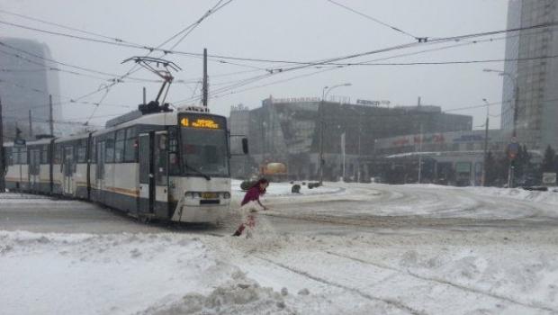 Foto: Vremea rea face ravagii! Copaci doborâți, transport paralizat